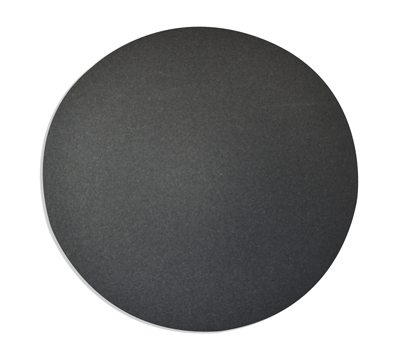 Silicon Carbide 8″ x 1/2″ – Plain Black – Hole
