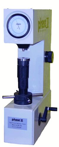 Phase II Superficial Rockwell Analog Hardness Tester