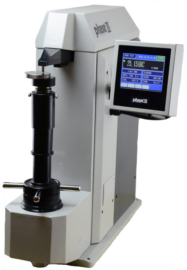 Phase II Digital Rockwell Hardness Tester