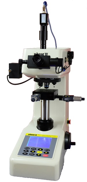 Phase II Dual Penetrator Micro Vickers and Knoop Hardness Tester with Automatic Software