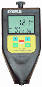 Integrated Coating Thickness Gauge with External Probe