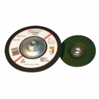 3M  Flexible Grinding Wheel, Quick Change, 4 1/2 in Dia, 1/8 in Thick, 36 Grit