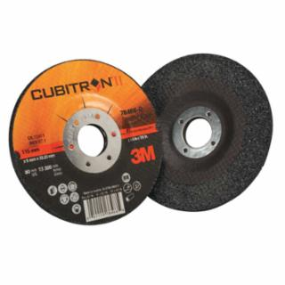 3M Cubitron II Depressed Grinding Wheel, 4 1/2″, 1/4″ Thick, 7/8 Arbor