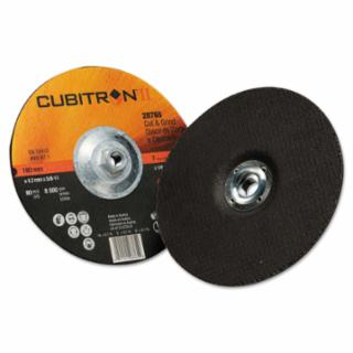 3M Cubitron II Cut & Grind Wheel, 7 in Dia, 1/8 in Thick, 5/8 in-11 Arbor