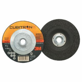 3M Cubitron II Depressed Grinding Wheel, 4 1/2″, 1/4″ Thick, 5/8-11 Arbor